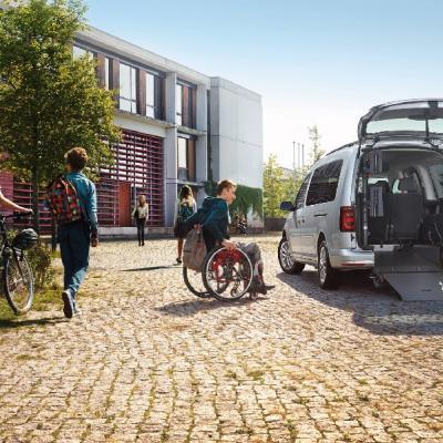 Volkswagen Caddy Maxi décaissé