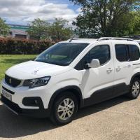 Transport de 1 fauteuil roulant Peugeot Rifter