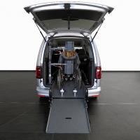 Volkswagen Caddy Maxi décaissé TPMR